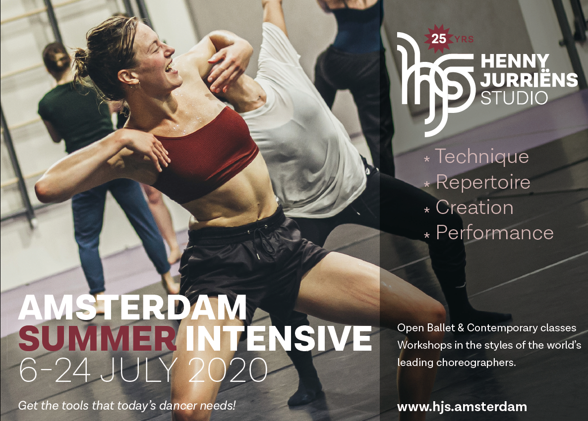 SUMMER INTENSIVE 2020 Limited Edition6 - 24 July 2020 - HJS
