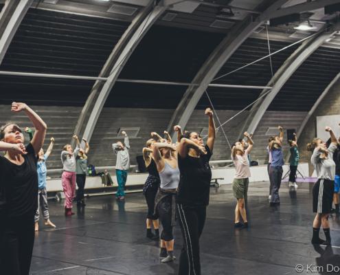 Gaga Workshop at HJS/Kim Doeleman